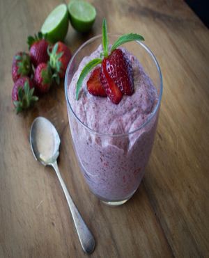 Berry Chia Pudding Healthy Recipe