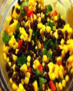 Black Bean Mango Salad Healthy Recipe