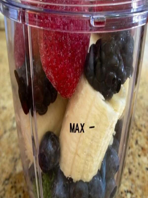 Blueberry, Banana, and Strawberry Smoothie Healthy Recipe