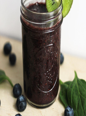 Blueberry Mint Smoothie Healthy Recipe