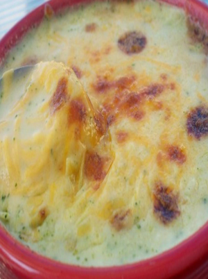 Broccoli Soup with Cheddar Cheese Healthy Recipe