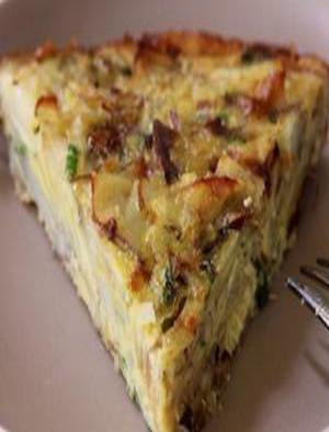 Caramelized onion frittata Healthy Recipe