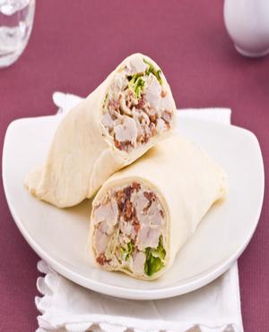 Chicken Caesar Wraps Healthy Recipe