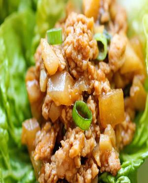 Chicken Lettuce Wraps Healthy Recipe