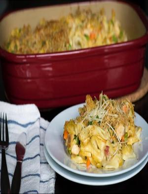 Chicken Noodle Casserole Healthy Recipe
