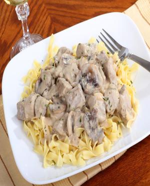 Chicken Stroganoff Healthy Recipe