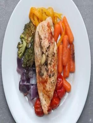 Chicken Tomato Carrot Grilled Cheese Healthy Recipe