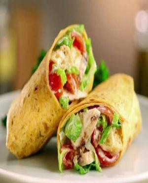 Chicken Wraps Healthy Recipe