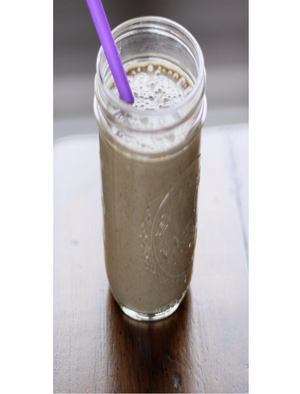 Chocolate and Banana Kefir Smoothie Healthy Recipe