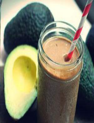 Chocolate Avocado Goddess Smoothie Healthy Recipe
