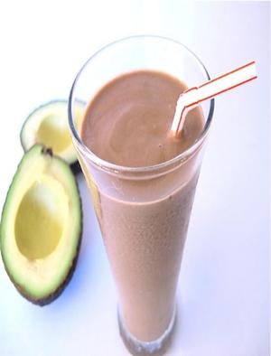 Chocolate Avocado Smoothie Healthy Recipe