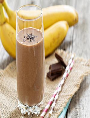 Chocolate Banana Smoothie Healthy Recipe