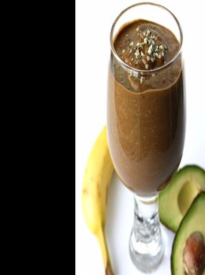 Chocolate Hemp Power Smoothie Healthy Recipe