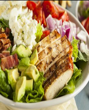 Chopped Chicken Salad Healthy Recipe