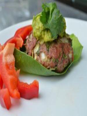 Cilantro Turkey Burgers Healthy Recipe
