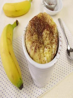 Cinnamon Banana Mug Cake Healthy Recipe