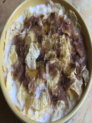 Cinnamon Honey Corn Flakes Healthy Recipe