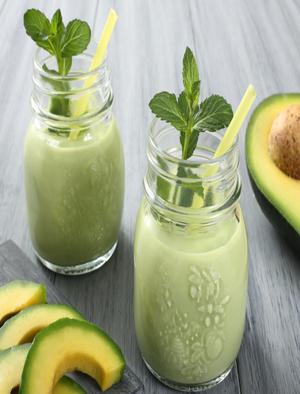 Coconut Avocado Smoothie Healthy Recipe