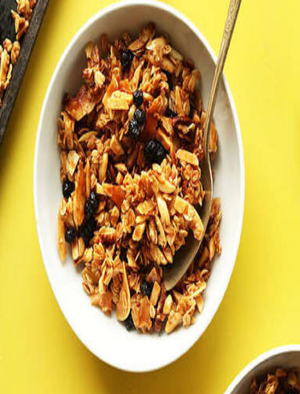 Coconut Cinnamon Muesli Healthy Recipe