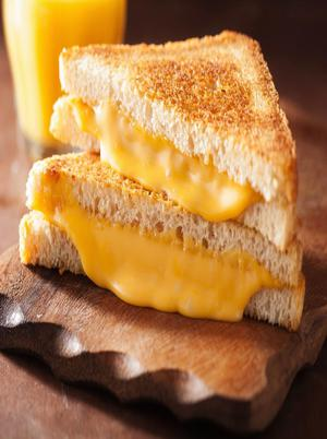 Colby Jack and Cheddar Grilled Cheese Healthy Recipe