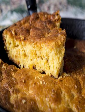 Cornbread With Corn Casserole Healthy Recipe