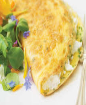 Cream Cheese Omelet Healthy Recipe