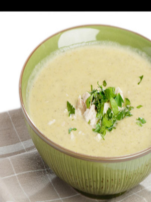 Creamy Chicken Yogurt Soup Healthy Recipe