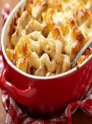 Creamy Mushroom Macaroni Healthy Recipe