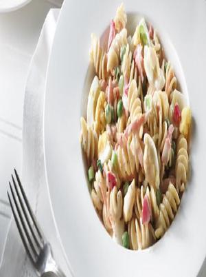 Creamy Pasta and Vegetables Healthy Recipe