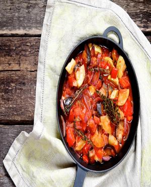 Crockpot Ratatouille Healthy Recipe