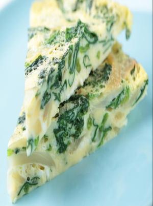Crustless Spinach Quiche Healthy Recipe