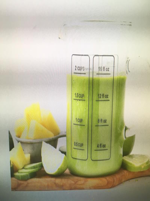 Cucumber Pineapple Smoothie Healthy Recipe