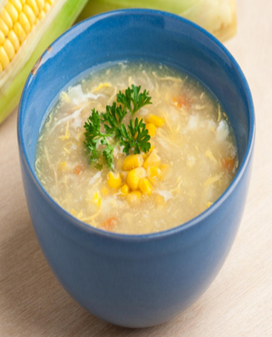 Easy Chinese Corn Soup Healthy Recipe