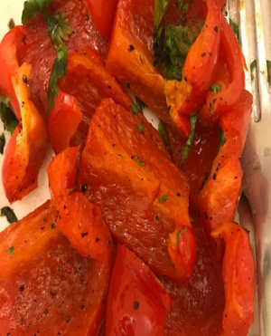 Easy Grilled Peppers Healthy Recipe