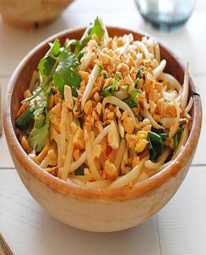Easy Pad Thai Healthy Recipe