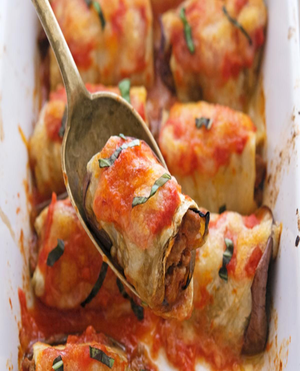Eggplant Rollatini Healthy Recipe