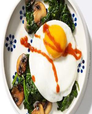 Eggs & Greens Healthy Recipe