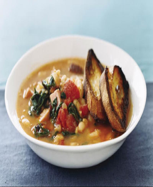 Fast White-Bean Stew Healthy Recipe