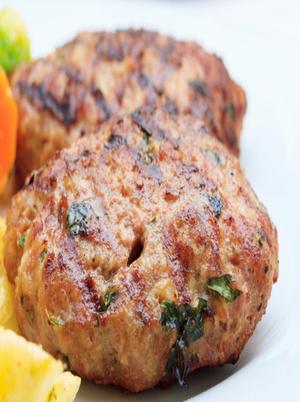 Feta-Stuffed Hamburgers Healthy Recipe