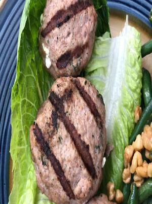 Feta-Stuffed Turkey Burgers Healthy Recipe