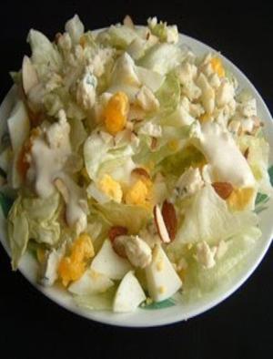 First Class Bleu Cheese Salad Healthy Recipe