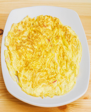 Garlic Omelet Healthy Recipe