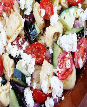 Greek Tortellini Salad Healthy Recipe