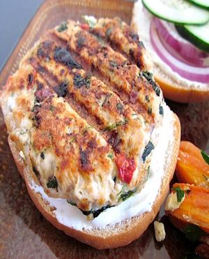 Greek Turkey Burgers Healthy Recipe
