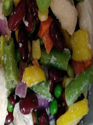 Green Bean and Kidney Bean Salad Healthy Recipe