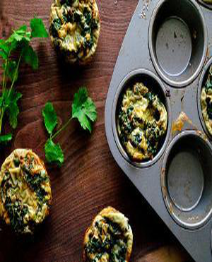 Green Egg Muffin Healthy Recipe