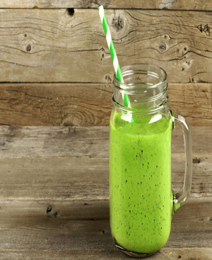 Green Monster Smoothie Healthy Recipe
