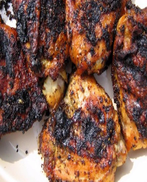 Grilled Chicken Thighs Healthy Recipe
