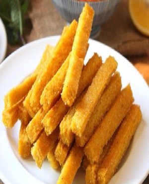 Grilled Polenta Chips Healthy Recipe