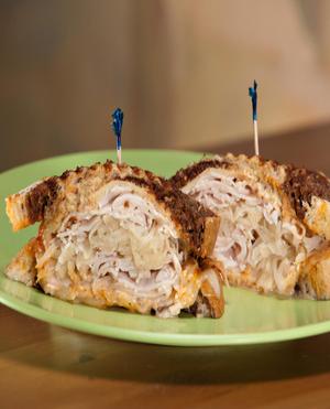 Grilled turkey reuben Healthy Recipe